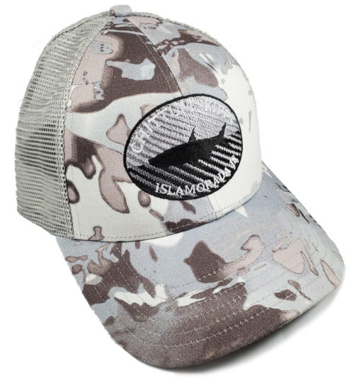 Chittum Simms Trucker Cloud Camo Grey